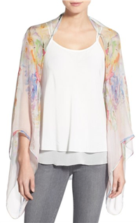 Ted Baker - Hanging Gardens Silk Cape