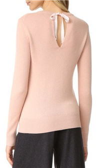 Theory - Salomina Cashmere Tie-Back Sweater