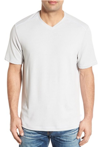 Tommy Bahama - Pebble Shore Original Fit V-Neck T-Shirt