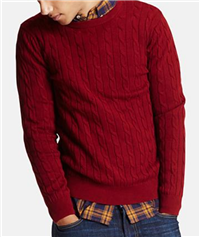 UNIQLO - Men Cable Crewneck Sweater