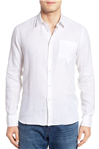 Vilebrequin - Caroubie Regular Fit Linen Sport Shirt