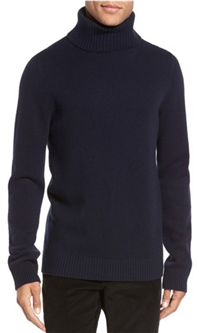 Vince - Chunky Wool & Cashmere Turtleneck Sweater