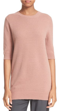 Vince - Elbow Sleeve Cashmere Sweater
