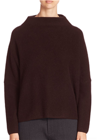 Vince - Funnel Neck Cashmere Sweater