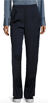 Vince - Pleated Pull-On Trousers