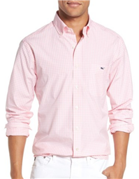 Vineyard Vines - Tucker - Seabrook Trim Fit Gingham Sport Shirt
