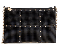 Whiting & Davis - Studded Crossbody Clutch