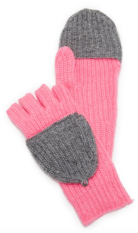 White+Warren - Pop Top Cashmere Mittens