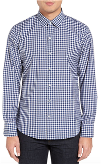 Zachary Prell - Caruso Trim Fit Check Sport Shirt