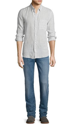 7 For All Mankind - FoolProof Slimmy Slim Straight-Leg Jeans